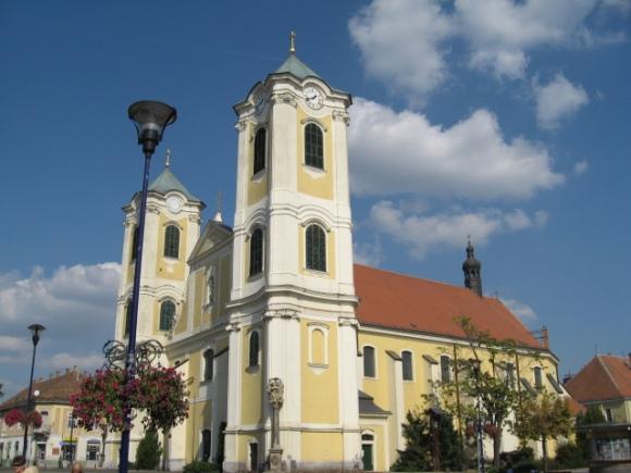 A gyöngyösi Szent Bertalan templom, photo by me