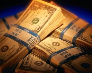 Bundles of Paper Currency