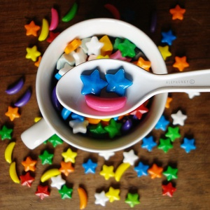 kép: A spoonful of happiness by  Alephunky@deviantart