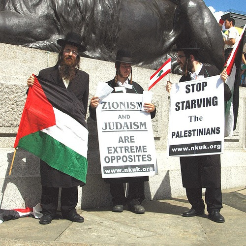 Neturei Karta, a Város Őrei, Palesztina szabadságáért - kép: wikipedia