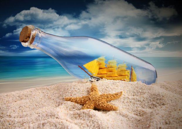 A tenger önmaga és a cseppje is - kép: forwallpaper.com