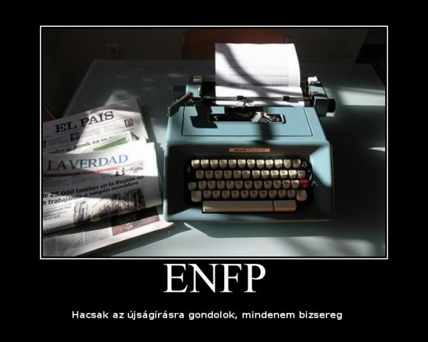 Egy ideális ENFP-karrier