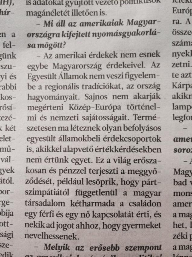 Magyar Hírlap, via Cink