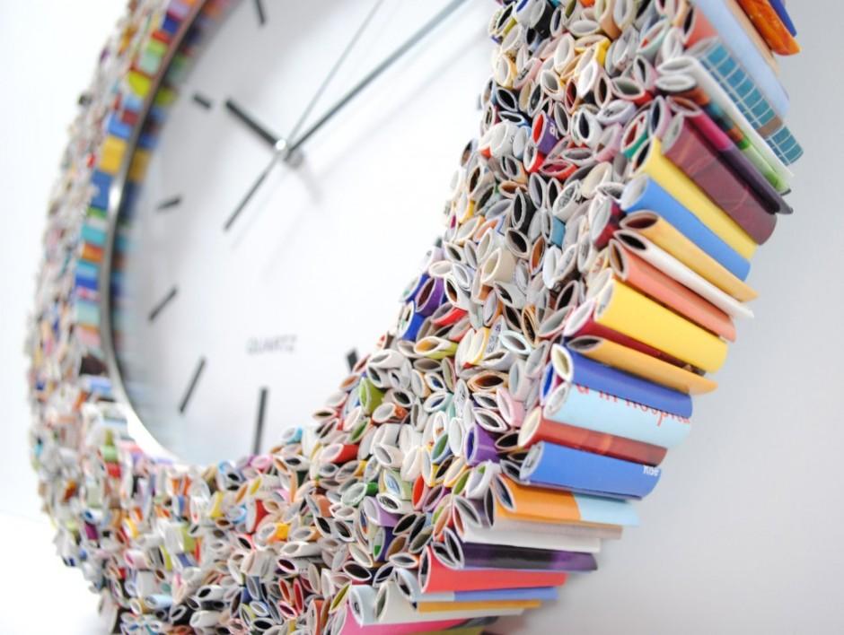 Az idő és a papír - kép: gopixpic.com