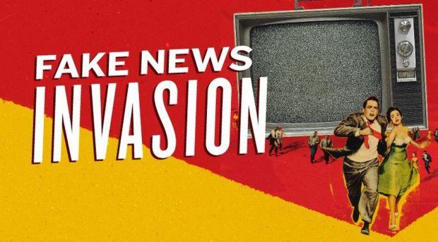 A fontos hír a sok szenny között elveszik - kép: freepress.net