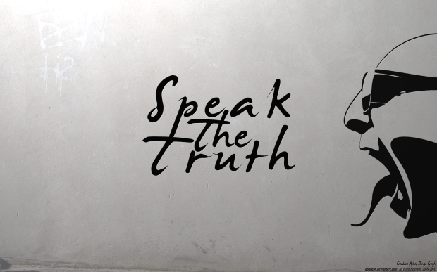kép: Speak The Truth Wallpaper by APgraph